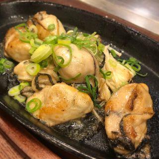 牡蠣バター焼き