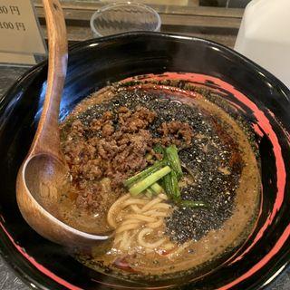 黒胡麻坦々麺(鉄板中華・担々麺 究 Kiwa (キワ))