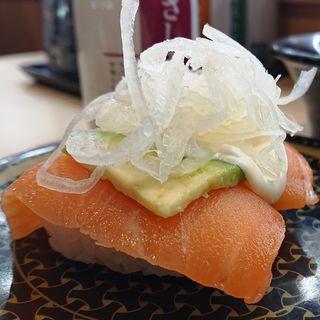 サーモンアボカド(はま寿司 鶴見中央店)