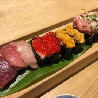 高級寿司食べ放題(ぎんざまぐろや )