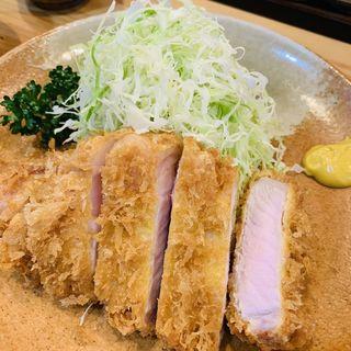 特ロース定食(ひのき )