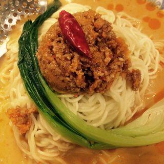 冷やし坦々麺(夏限定)(中国ラーメン揚州商人 新橋店 (チュウゴクラーメン・ヨウシュウショウニン))