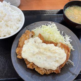 チキン南蛮定食(からやま 茨木耳原店)