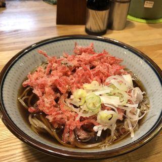 天ぷらそば(紅生姜)(福そば )