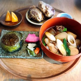 芋煮定食(ディヨンナナショクドウ (d47食堂))