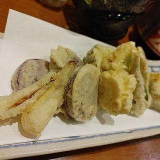 島野菜の天ぷら(Aticoco)