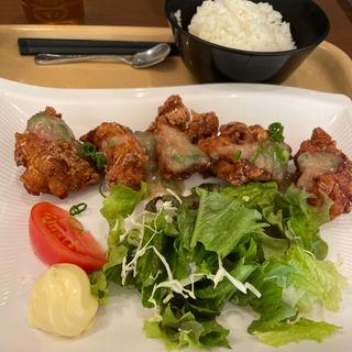 唐揚げ定食(百代茶屋 (ひゃくだいちゃや))
