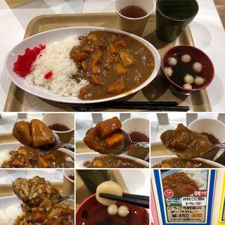 ゴロゴロ野菜のポークカレー(新宿区役所 お食事処けやき)