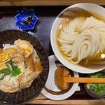 カツ丼セット(麺大盛)