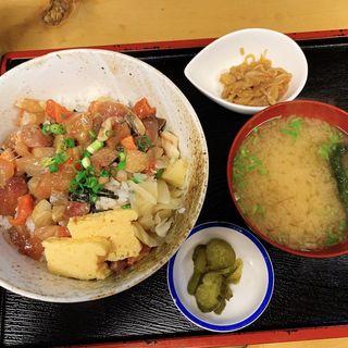 さかなや漬け丼定食(魚や 日本橋店 (さかなや))