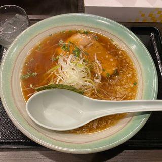 煮干醤油ラーメン(めん楽亭)
