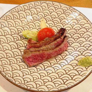 佐賀牛のステーキ(花くし)
