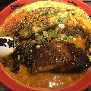 肉々カラシビ味噌らー麺