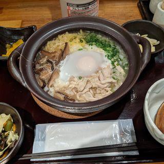 土鍋炊き鶏飯定食(鳥酎 )