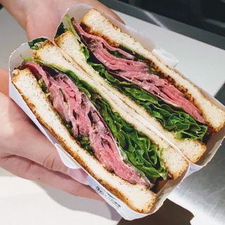 トーストサンドイッチバンブー 定番サンド(トーストサンドイッチ バンブー)