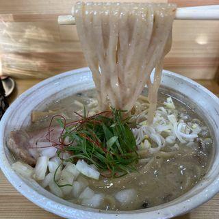 あさり鶏白湯シチューラーメン(桐麺 )