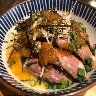 ローストビーフのとろろスタミナ丼(kawara CAFE & DINING 宇田川店)