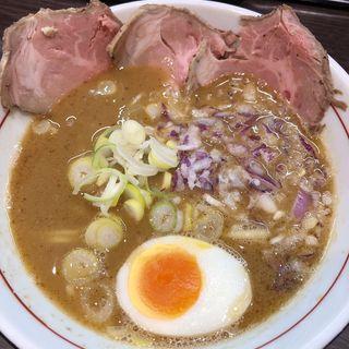 TORI豚白湯ラーメン