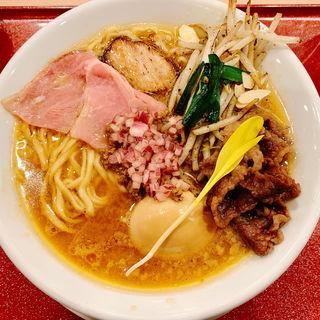味玉和牛吟醸味噌そば(麦と麺助 新梅田中津店)