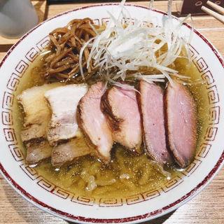 肉そば(塩煮干)(きたかた食堂 神保町店)