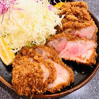 カタロースかつ定食(とんかつ檍 大門店)