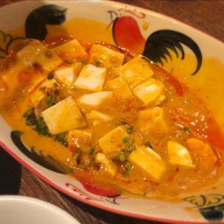 レッドカレー麻婆豆腐(ちょいさぼ)