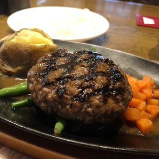 ビッグジョー ハンバーグステーキ 180g(ビッグ・ジョー 藤井寺店 (Big joe))