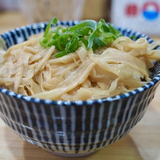 メンマ丼(桐麺 )