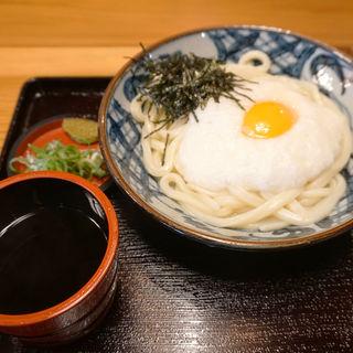 つけ麺ほっと山かけ(山ちゃんうどん)