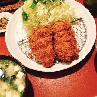 ヒレカツ定食(とんかつ廣 )