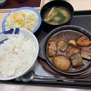 ビーフシチュー定食(松屋 新宿大ガード店 )