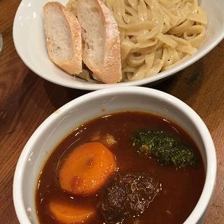 ビーフシチューつけ麺(2017年Xmas)(渡なべ )