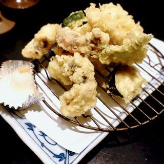 タコの天ぷら(活魚寿司 賞味 )