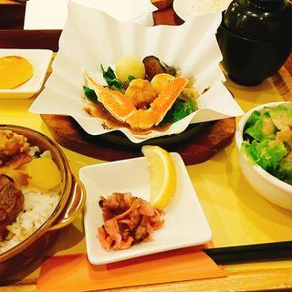黒毛和牛ZEN 和牛ステーキご飯&蟹と帆立のあつあつグリル(小)
