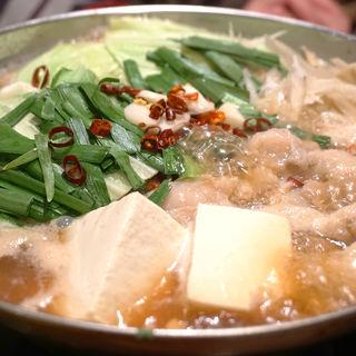 もつ鍋(天神ホルモン 今泉店)