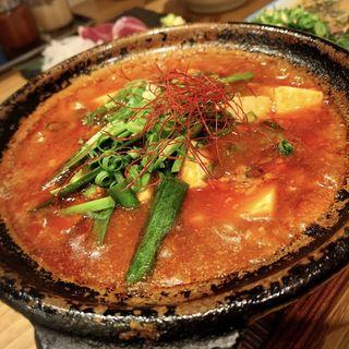 あつあつ土鍋麻婆豆腐(とり焼肉エイト)