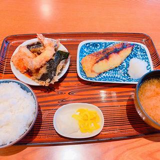 赤魚西京焼き定食