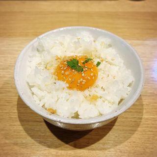 卵黄飯(麺屋宗&SOU 中目黒店 (めんやそう))