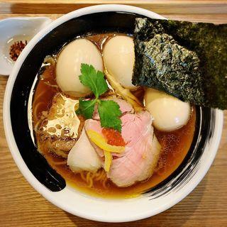 煮干醤油そば(麺処しろくろ)