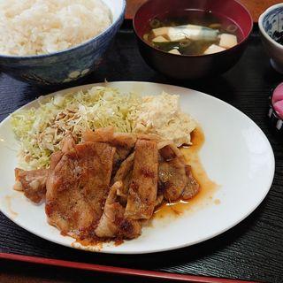 生姜焼き定食(安兵衛 )