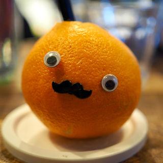 まるごとオレンジジュース(ココチカフェ)