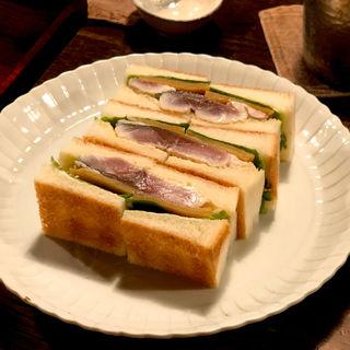 鯖サンド(祇園ろはん )