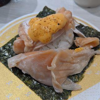 特盛り!炙りとろサーモンチーズ(はま寿司 蒲田駅南店 )
