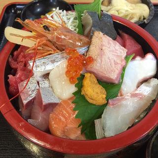 海鮮丼定食(銀蔵 (ギンゾウ))