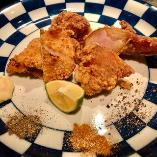 阿波尾鶏にんにく醤油のからあげ(サンチャ フカミ)