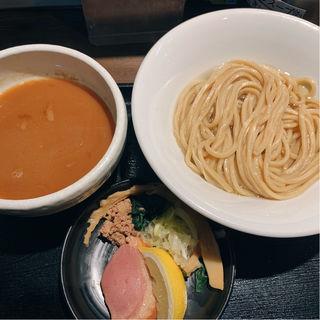 鴨白湯つけ麺、出汁盛り(鴨出汁中華蕎麦麺屋yoshiki)