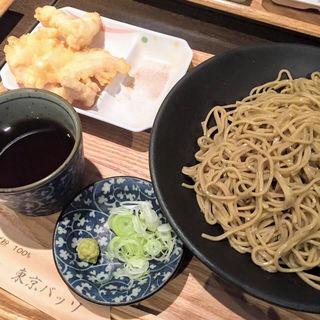 十割蕎麦とかしわ天(東京バッソ )