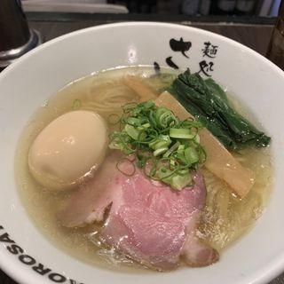 塩味玉ラーメン(さとう 桜新町店 )