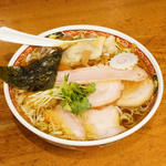 白河中華そば「焼豚雲呑麺」(2020月12月)