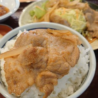 生姜焼き定食(かめや御食事処 )